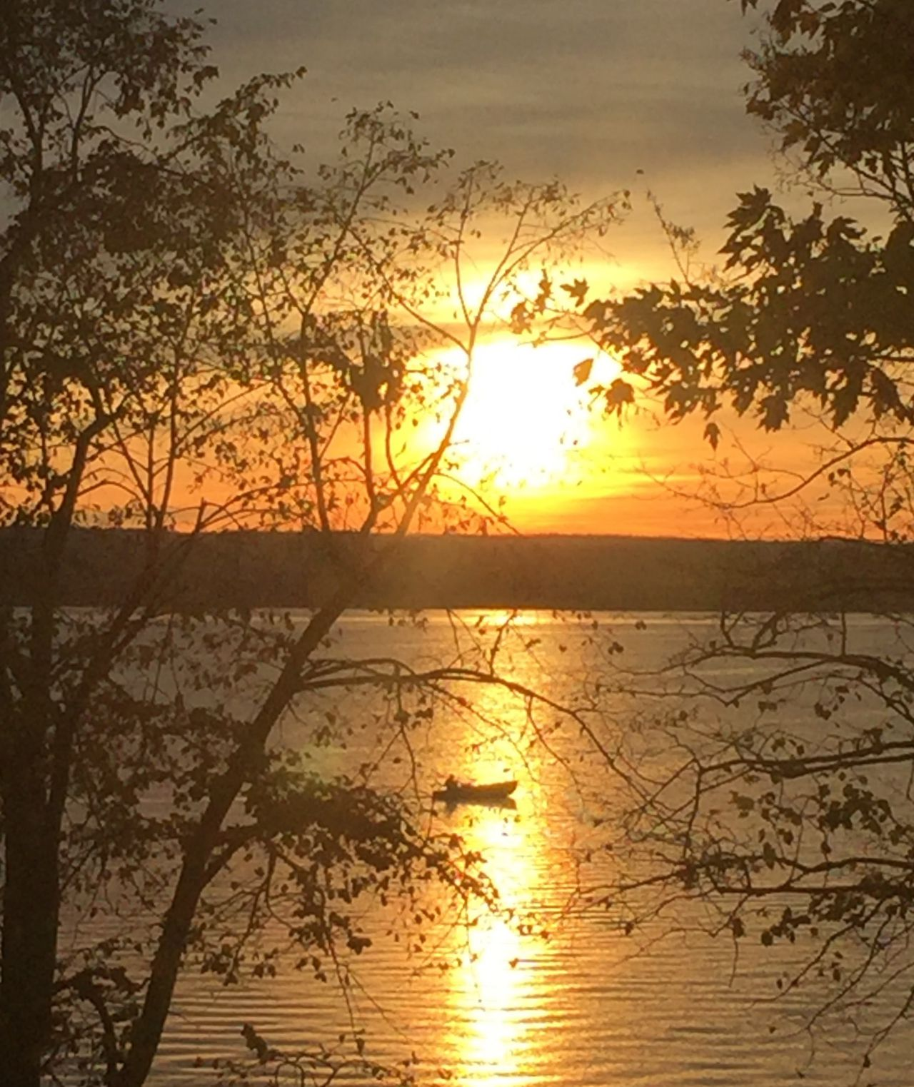 Cayuga Lake in Romulus over the weekend (photo)