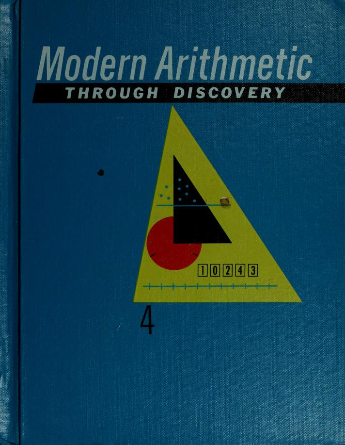 Modern arithmetic through discovery by Robert Lee Morton
